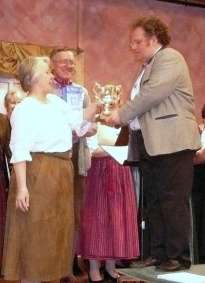 Helmut Künzel 20 Jahre Chorleiter